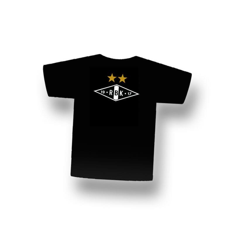 T Skjorte Sort Junior Rbk Shop